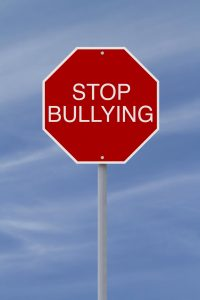 stop bullying sign board